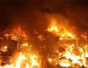 حريق يقضي على(150)منزل بالفاشر