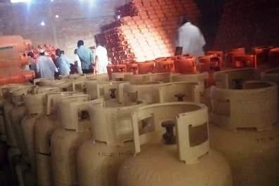مصادرة آلاف من أسطوانات الغاز كانت في طريقها إلى أريتريا