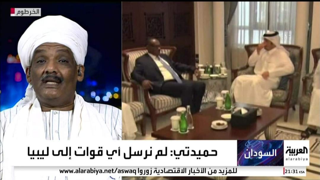 """عادل سيد أحمد للعربية: """"لا علاقة للسودان بنظام طرابلس"""""""