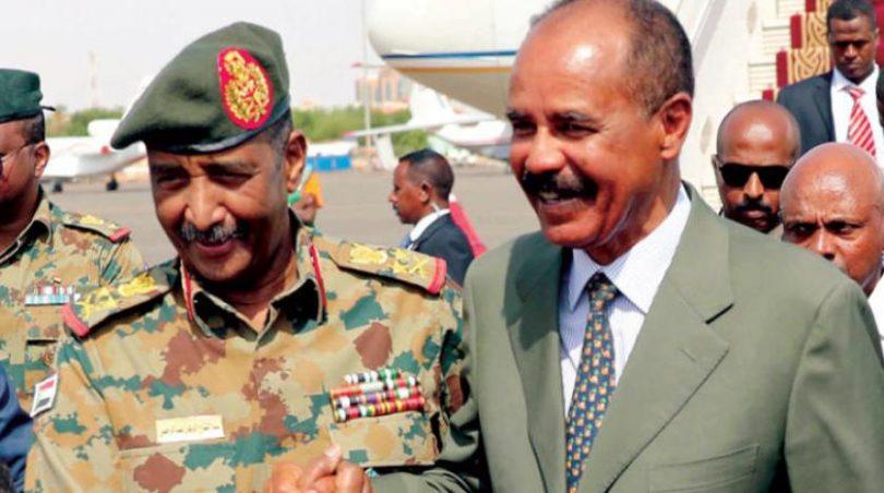الرئيس الإريتري يزور العاصمة الخرطوم