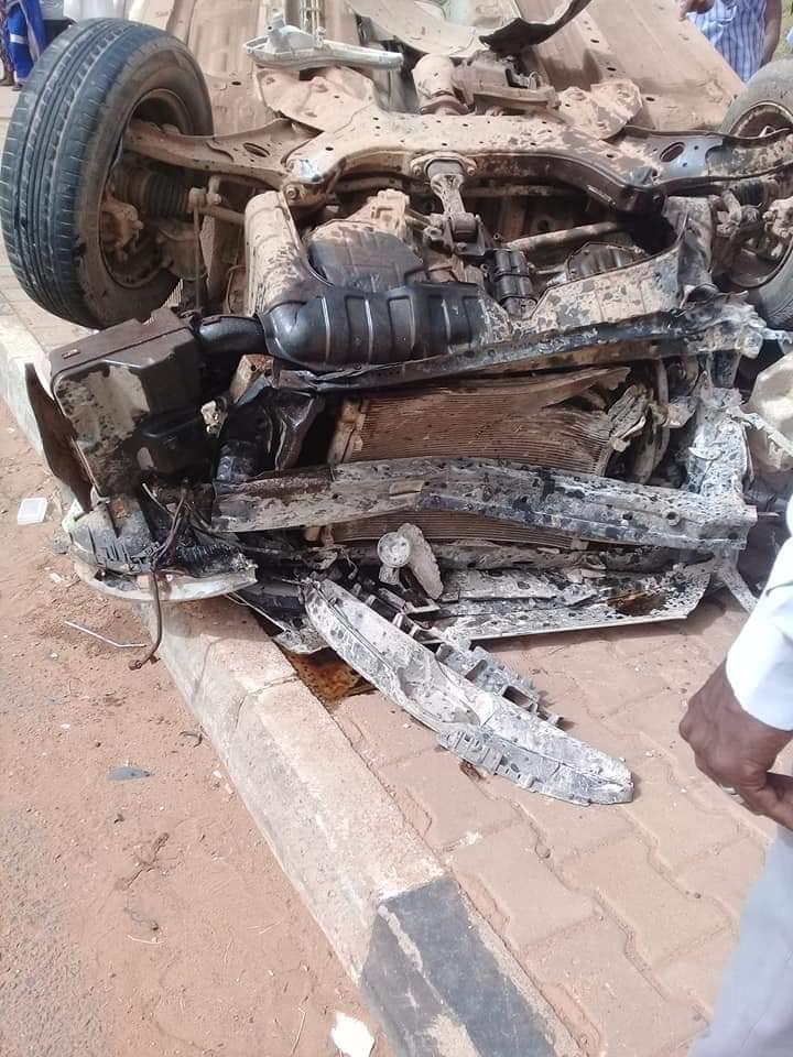 مصرع شخصين في حادث مروري مؤسف بكبري المنشية