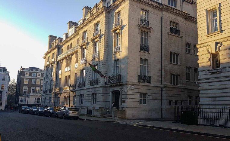 إستئناف عمل السفارة السودانية بلندن اليوم الأثنين وفق شروط معينة