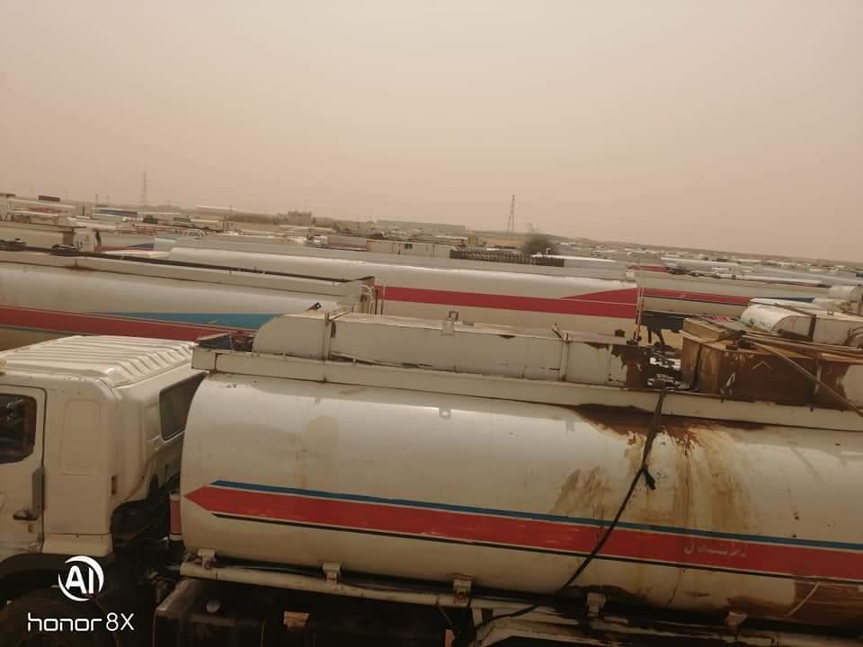مباحث التموين بشرق النيل تضبط تانكر وقود بحمولة 1000 جالون للبيع بالسوق الأسود