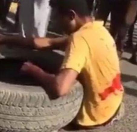 """بالفيديو: آخر لحظات الشهيد عباس فرح المعروف """"بشهيد المتاريس"""""""