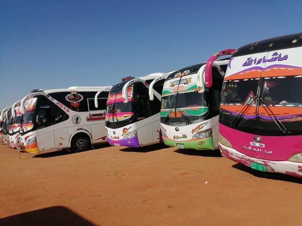 السودان : انطلاق رحلات البصات السفرية وغرفة السفريات تنفي زيادة التذاكر لأسعار خرافية