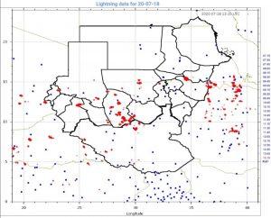 وحدة الإنذار المبكر تحذّر من هطول أمطار غزيرة بثلاث ولايات