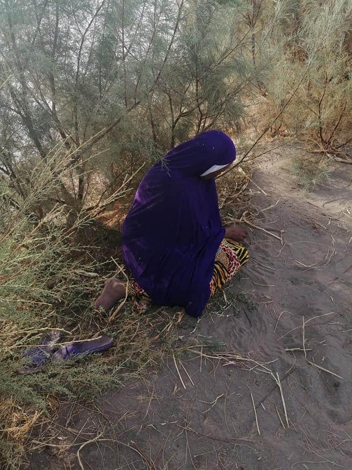 العثور على سيدة أسفل كبري المنشية خرجت من المنزل بسبب خلافات مع أبنائها