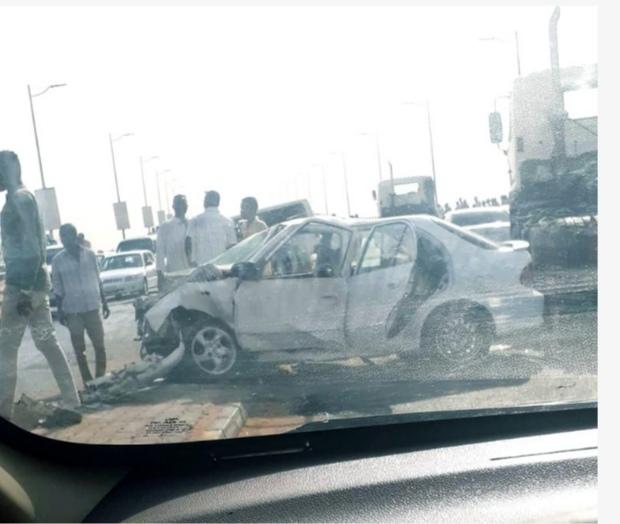 بالصورة : وفاة 5 أشخاص وإصابة آخرين في حادث مروري بكبري الفتيحاب