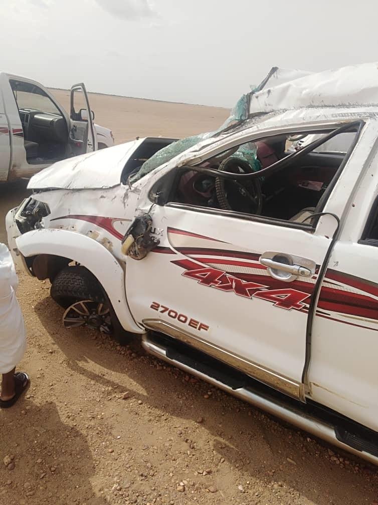 وفاة معتمد سابق بولاية نهر النيل و زوجته إثر حادث مروع