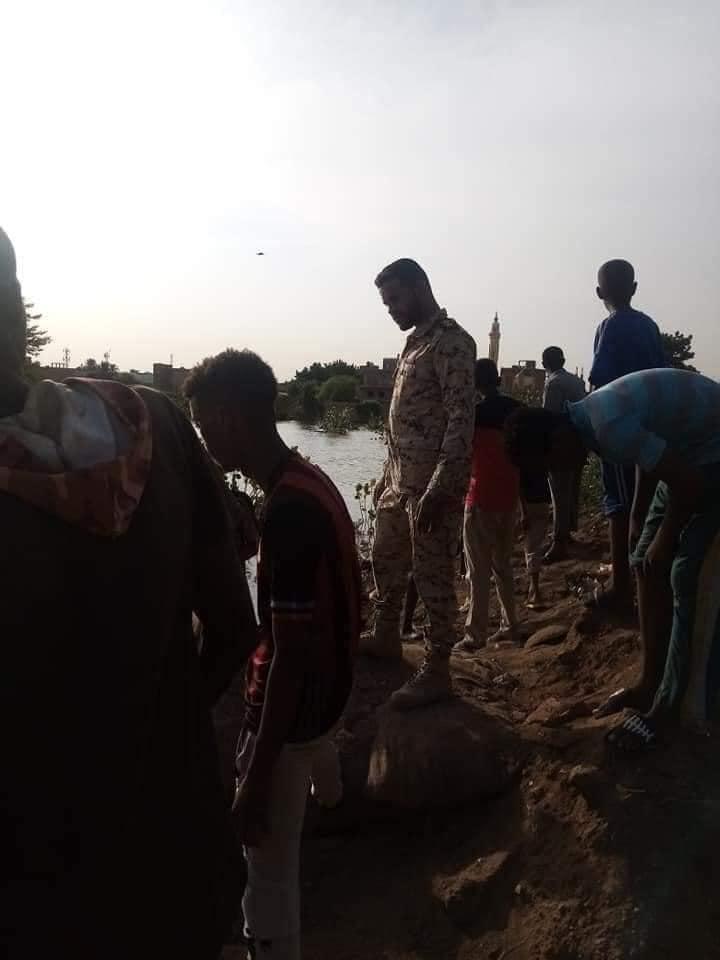 الدفاع المدني : انتشال جثة ثالثة من مياه الفيضان
