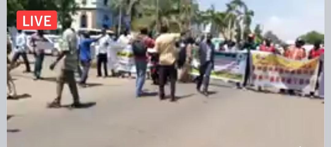 إنطلاق تظاهرات بالعاصمة السودانية الخرطوم ضد العنصرية