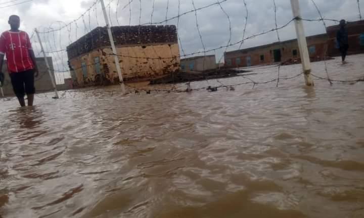 سيول وفيضانات تجتاج قرى شرق مروي