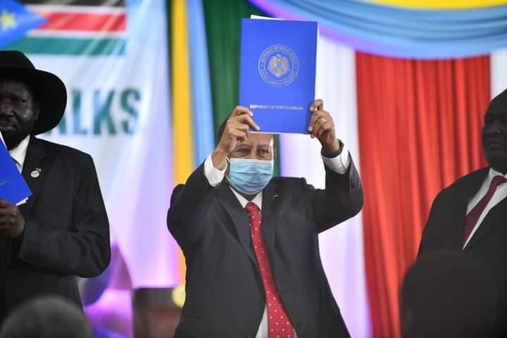 بعد التوقيع على اتفاق تاريخي يشهده السودان.. حمدوك : أُهدي السلام إلى أطفالنا الذين وُلدوا بمعسكرات النزوح