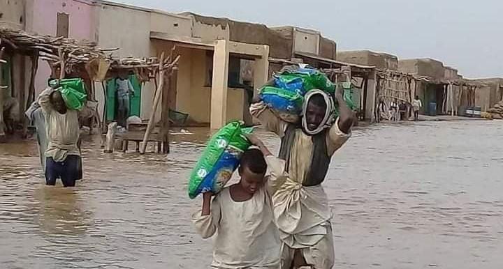 فيضان خور بركة و إعلان مدينة طوكر منطقة كوارث طبيعية