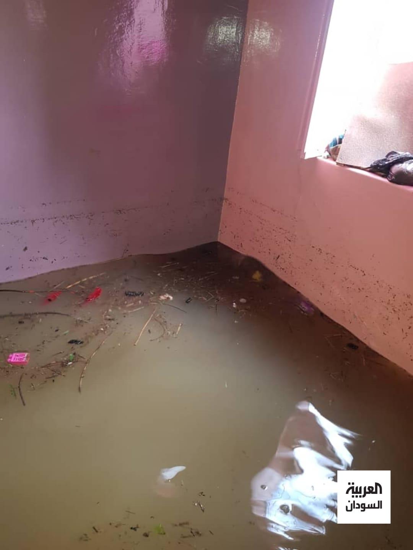 فيضان النيل بسنجة يكبد عروساً خسائر فادحة