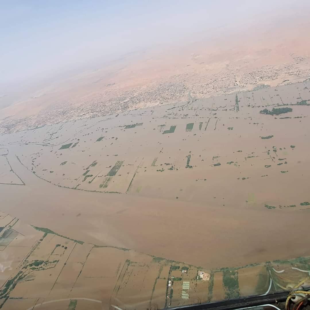 بالصور: كارثة الغرق بالسودان