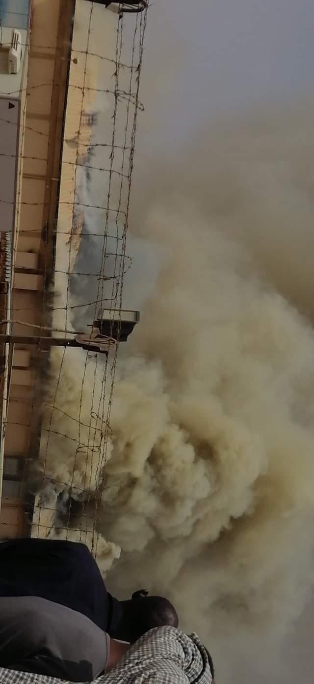 نشوب حريق هائل بمصنع أميفارما للأدوية