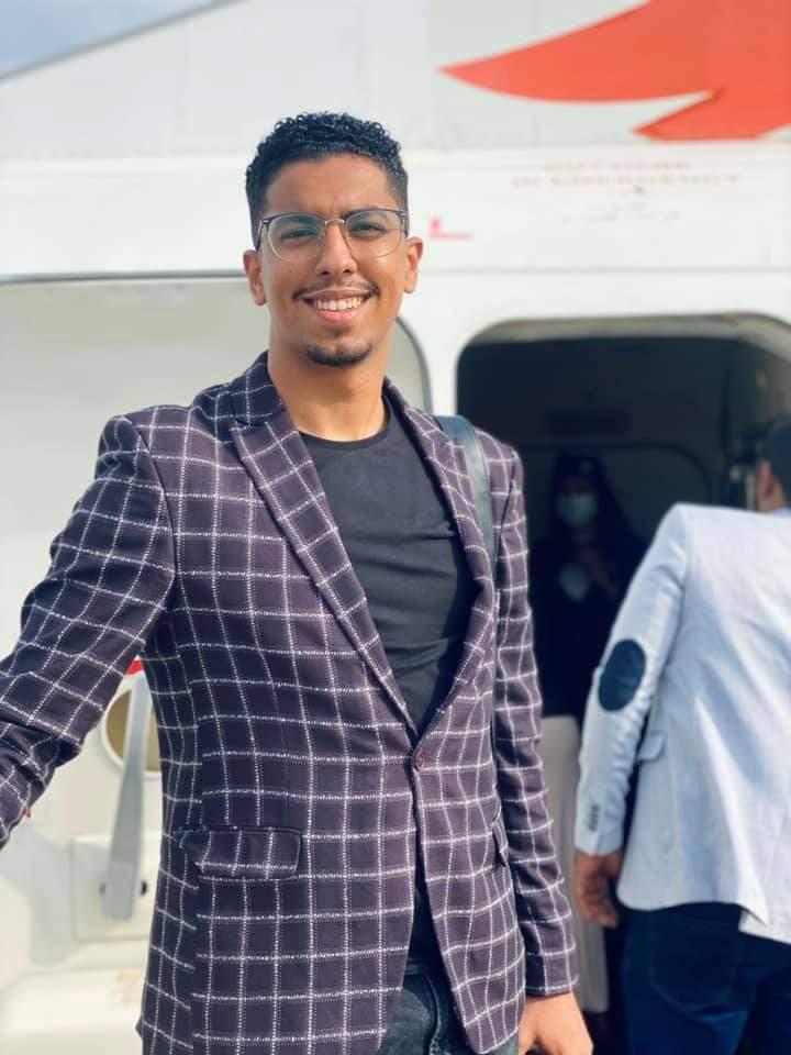 الإعلامي حازم حلمي يرافق وفد المقدمة إلى جوبا