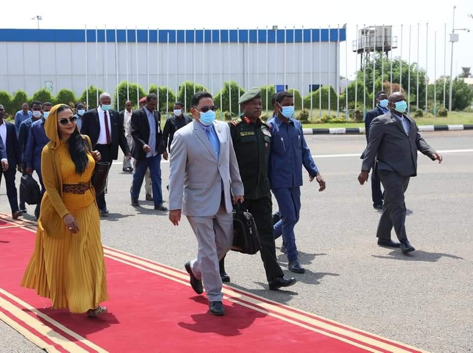 وفد المقدّمة يغادر إلى جوبا لاحتفالات التوقيع النهائي لإتفاق السلام